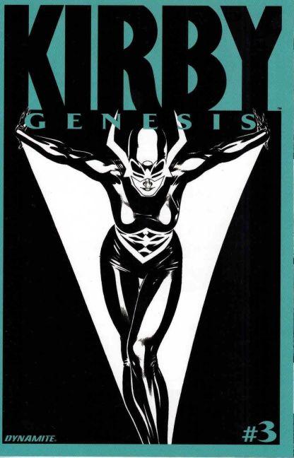 Kirby: Genesis #3 Ryan Sook Black and White Sketch Variant