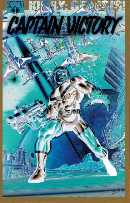 Kirby: Genesis - Captain Victory #1 Sean Chen Negative Art Variant