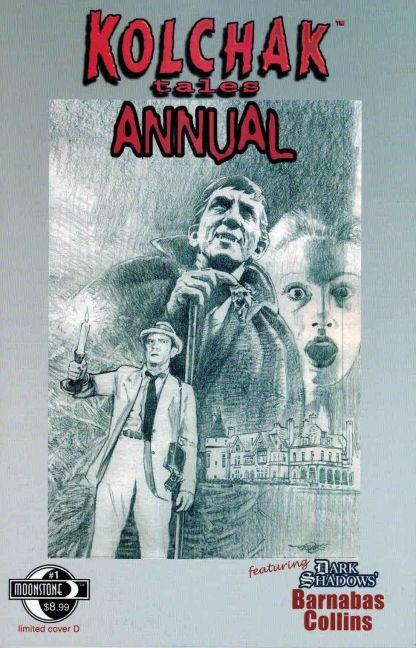 Kolchak Tales: Annual #1 D Sketch Variant