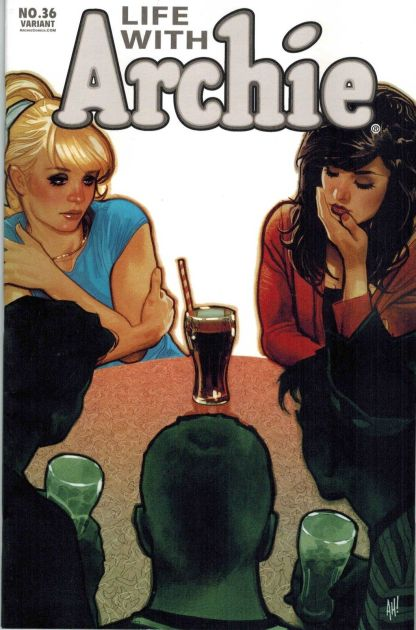 Life With Archie #36 Adam Hughes Variant Death of Archie