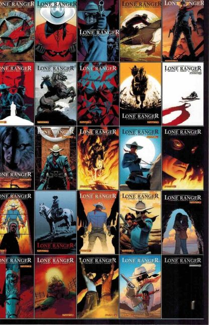 Lone Ranger #25 B All Covers Variant
