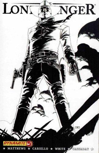 Lone Ranger #5 Black and White John Cassaday Sketch Variant