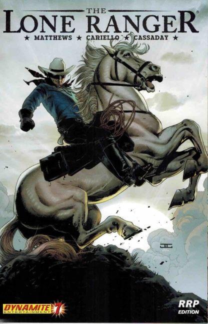 Lone Ranger #7 John Cassaday RRP Variant