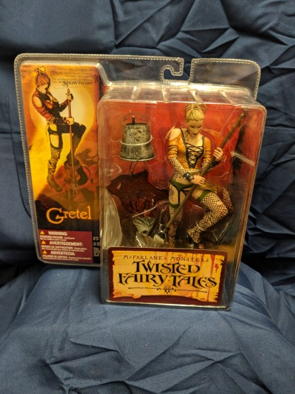 McFarlane Monsters 4 Twisted Fairy Tales Gretel Action Figure 2005