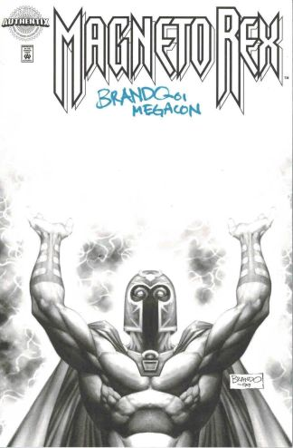 Magneto Rex #1 Authentix Limited Edition Brando Signed Variant