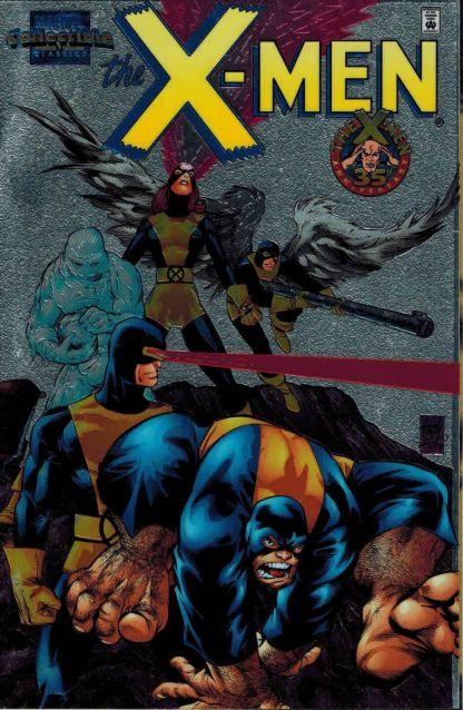 Marvel Collectible Classics X-Men #1 Adam Kubert Chromium Variant 1998 Lee Kirby