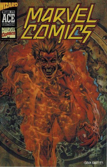 Marvel Comics #16 Wizard Ace Edition #70 Glenn Fabry Acetate Overlay Variant