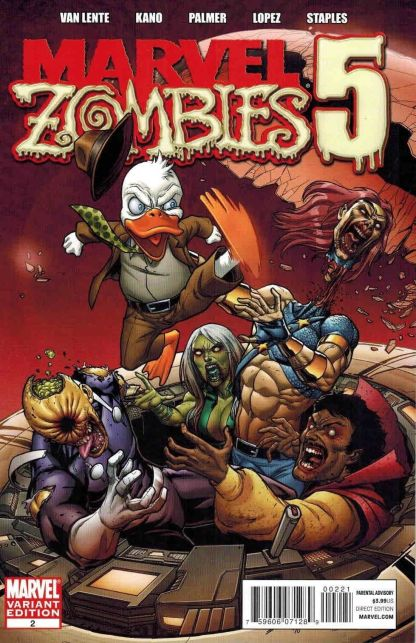 Marvel Zombies 5 #2 Salvador Espin Variant Howard The Duck