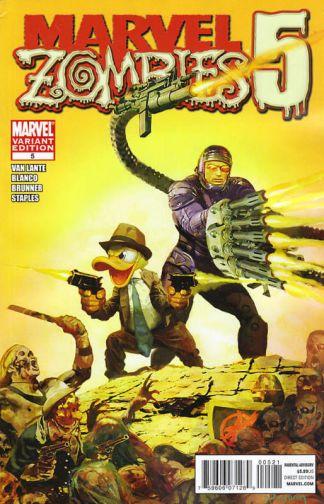 Marvel Zombies 5 #5 Arthur Suydam Variant