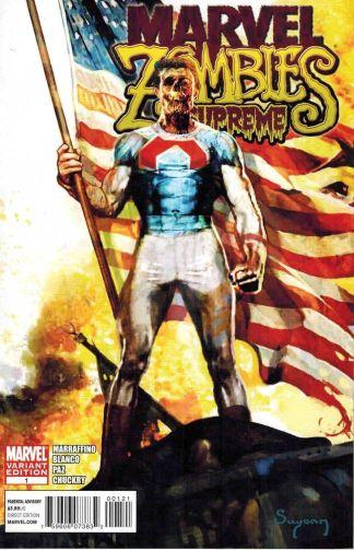 Marvel Zombies: Supreme #1 Arthur Suydam Variant