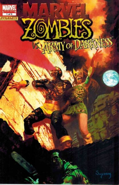 Marvel Zombies vs. Army of Darkness #1 Dynamite Arthur Suydam Variant