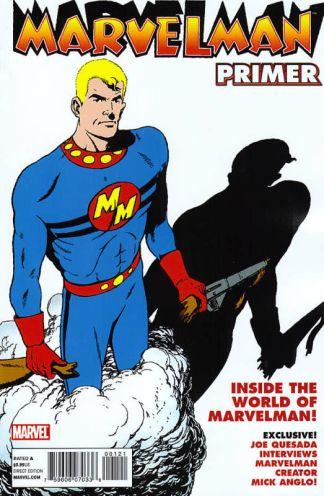 Marvelman Classic Primer Anglo Variant