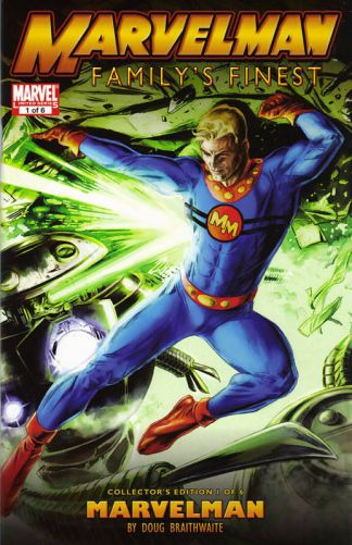 Marvelman Family's Finest #1 Collector's Edition