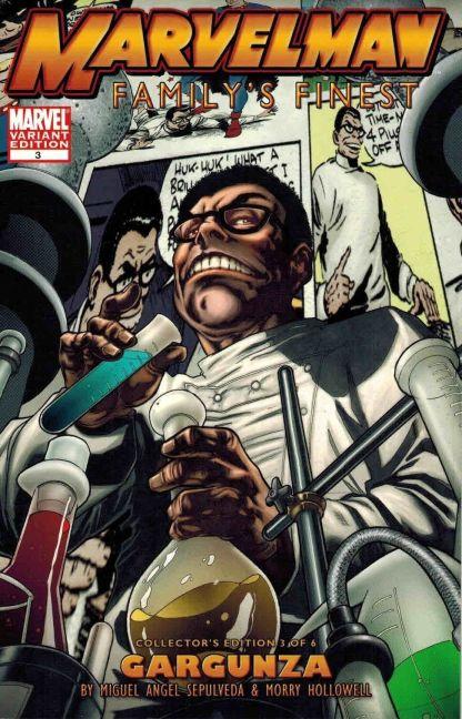 Marvelman Family's Finest #3 B Variant