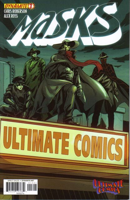 Masks #1 Ultimate Comics Store Exclusive Variant Alex Ross Shadow Green Hornet