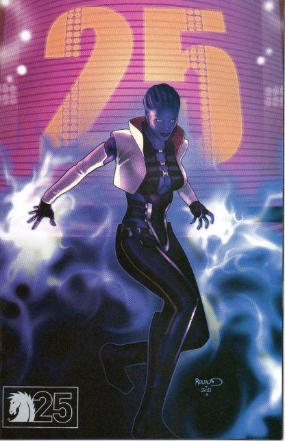 Mass Effect: Invasion #1 Dark Horse 25th Anniversary Variant