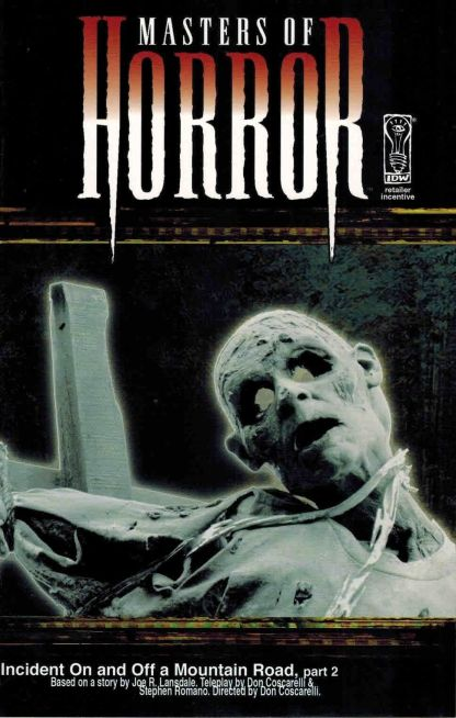 Masters of Horror #2 B Retailer Incentive Variant
