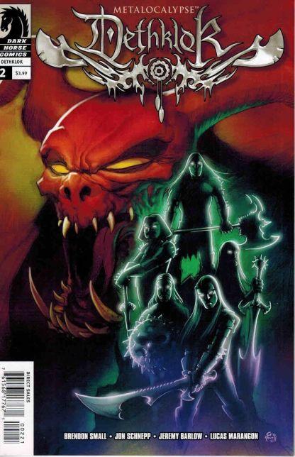 Metalocalypse: Deathklok #2 Eric Powell Variant