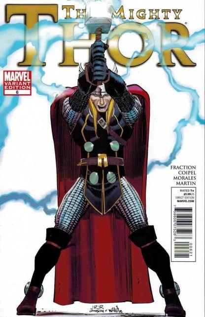 Mighty Thor #6 John Romita Jr Color Variant