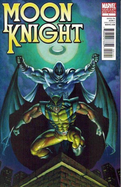 Moon Knight #1 Mark Texeira Wolverine Variant