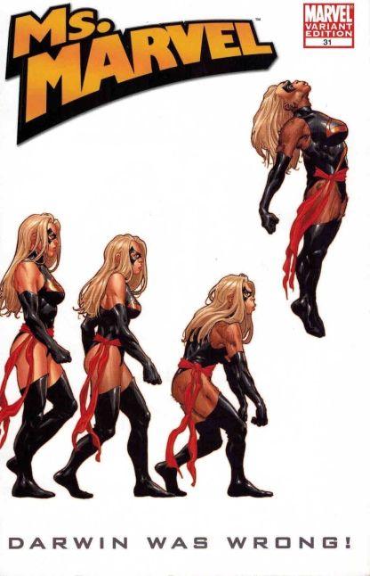 Ms. Marvel #31 Frank Martin Jr Marvel Apes Variant