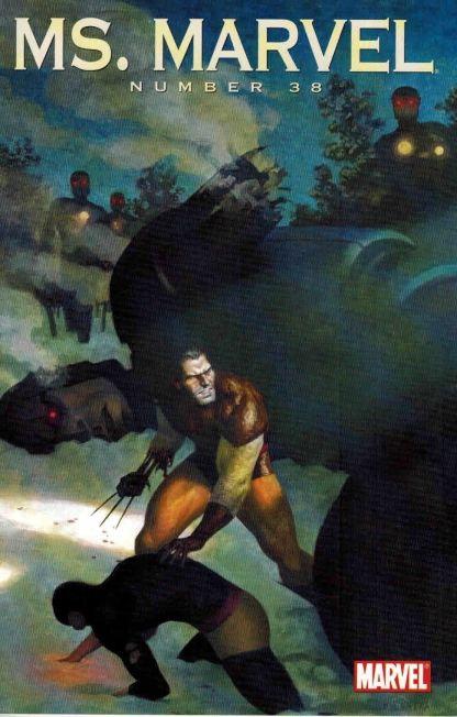 Ms. Marvel #38 Paulo Rivera Wolverine Art Appreciation Variant