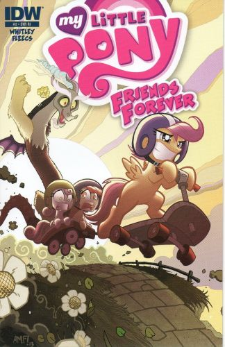 My Little Pony Friends Forever #2 1:10 Retailer Incentive Variant RI IDW