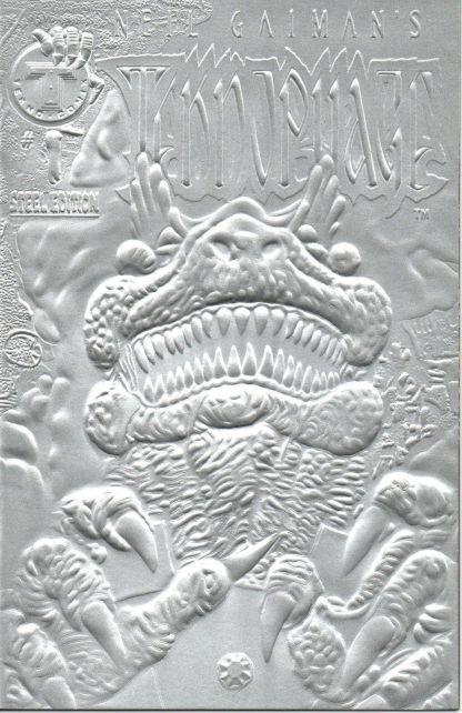 Neil Gaiman's Teknophage #1 Steel Edition Variant