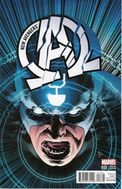New Avengers #13 1:25 Mike Deodato, Jr. Black Bolt Variant