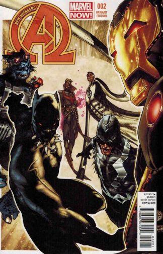 New Avengers #2 Marvel Now Variant 1:50 Simone Bianchi