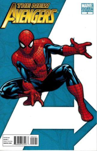 """New Avengers #2 Stuart Immonen """"I Am an Avenger"""" Variant Spider-man"""
