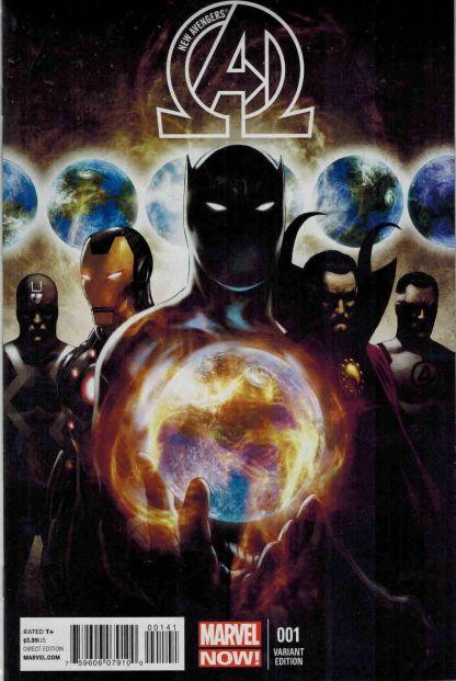 New Avengers #1 1:50 Steve Epting Variant Marvel NOW 2013 Hickman