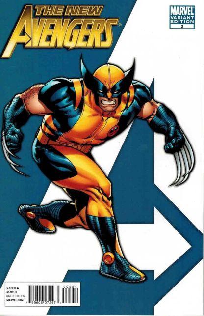 New Avengers #3 Stuart Immonen I am an Avenger Wolverine Variant