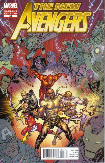 New Avengers #34 Final Issue Variant
