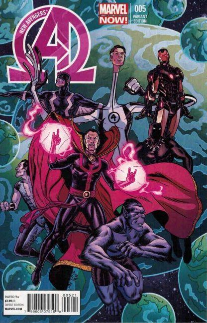 New Avengers #5 Joe Quinones Variant