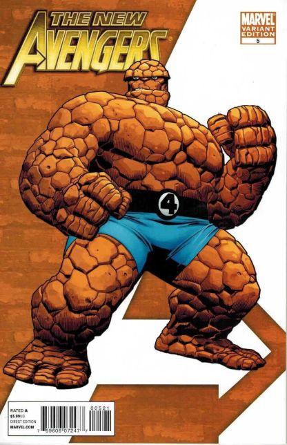 """New Avengers #5 Stuart Immonen """"I Am An Avenger"""" Thing Variant"""
