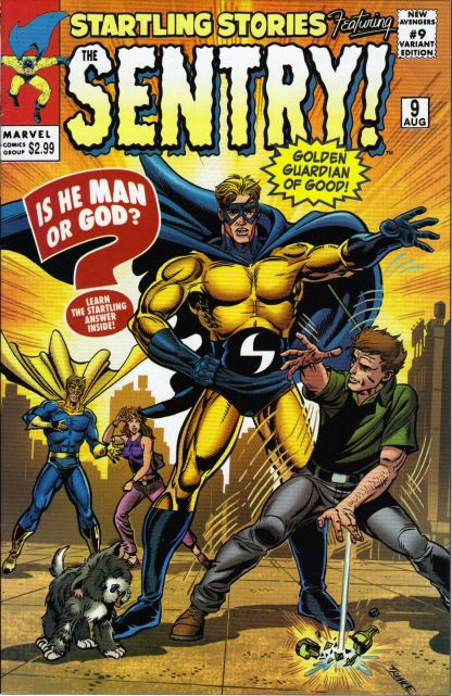 New Avengers #9 Sal Buscema Startling Stories Variant Sentry