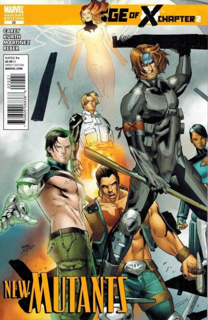 New Mutants #22 Clay Mann Age of X Variant