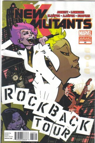New Mutants #35 Jason Pearson Variant