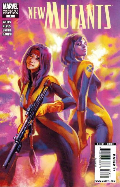 New Mutants #4 Benjamin Variant