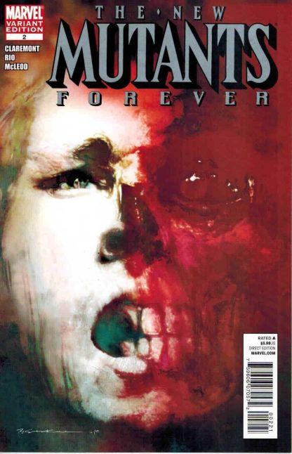 New Mutants Forever #2 Bill Sienkiewicz Variant Claremont