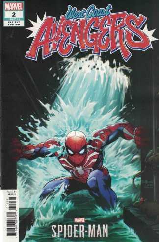 West Coast Avengers #2 1:10 Tim Tsang Spider-Man Video Game Variant Marvel 2018