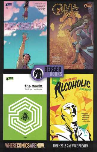 Berger Books Ashcan Mini Comic 2nd Wave Preview Dark Horse 2018