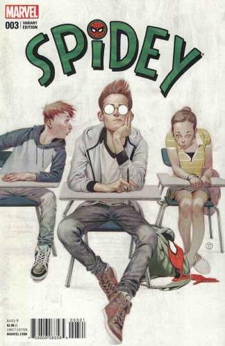 Spidey #3 1:25 Julian Tedesco Variant Marvel ANAD 2015 Spider-Man