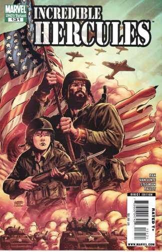 Incredible Hercules #131 1:10 1940s Gabriel Hardman Variant Marvel