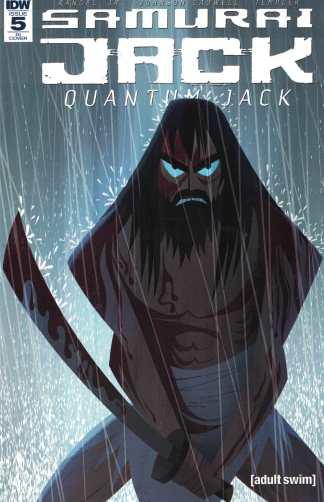 Samurai Jack Quantum Jack #5 1:10 Kellman Retailer Incentive Variant IDW 2017