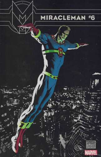 Miracleman #6 1:25 Kevin Nowlan Variant Marvel 2014