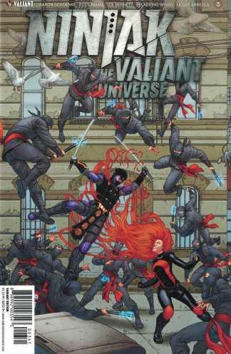 Ninjak vs Valiant Universe #3 1:20 Portela Variant Cover D Valiant 2018