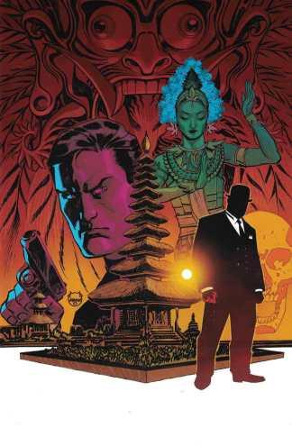 James Bond 007 #2 1:10 Dave Johnson Virgin Variant Dynamite 2018