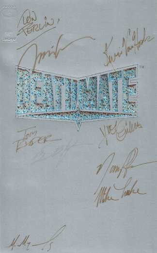 Deathmate Tour Book #1 One Shot Image Valiant 1993 Signed by Jim Lee and MORE